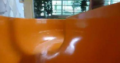 Badeparadies Eiswiese Göttingen - Kinder-Rutsche Onride