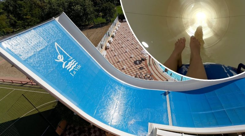 Speedy :: Half Pipe Reifenrutsche   Le Vele Acquapark San Gervasio Bresciano