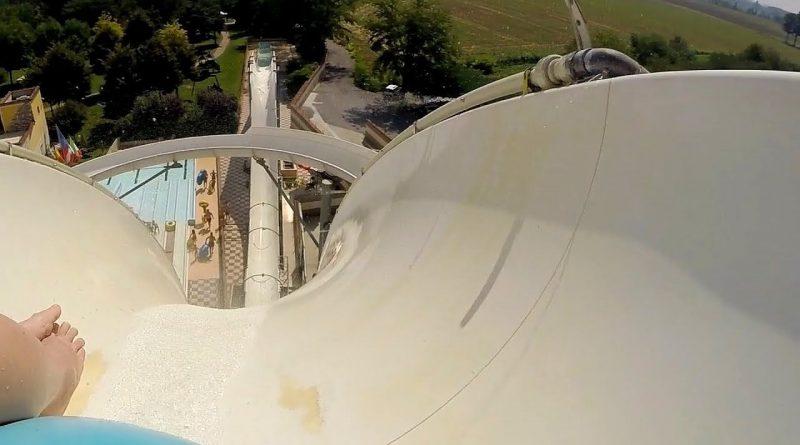 Crazy Hill :: Uphill Reifenrutsche   Le Vele Acquapark San Gervasio Bresciano