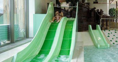 Bambini Beach Doppelrutsche :: Kinderrutsche   Bellewaerde Aquapark Ypern