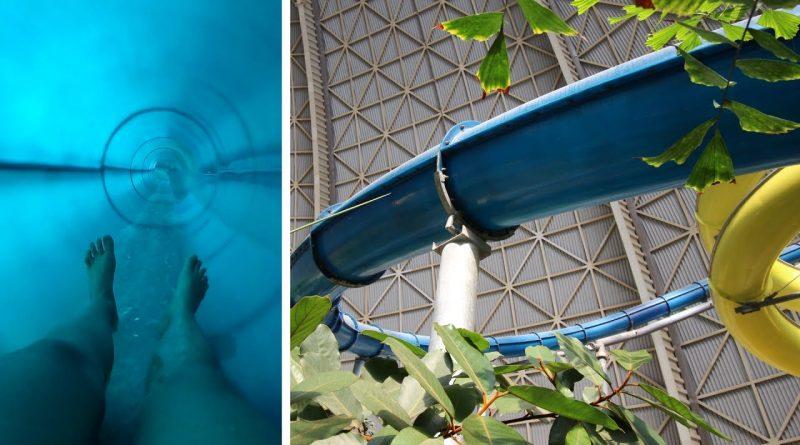 blaue Turborutsche :: höchste Wasserrutsche Deutschlands   Tropical Islands Krausnick
