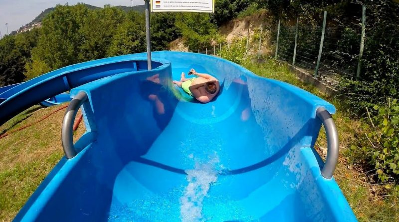 Scivolo Blu :: blaue Riesenrutsche   RioValli Cavaion Veronese